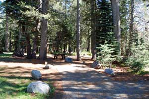 Lake Alpine Campground
