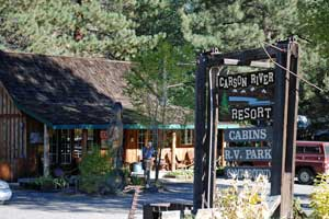 Carson River Resort, Alpine County, CA