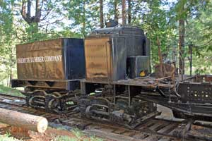 Sierra Nevada Logging Museum, White Pines Lake, CA