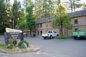 Stanislaus Nation Forest, Ranger Station, Hathaway Pines, CA