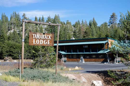 Tamarack Lodge, Highway 4, CA